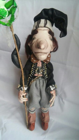 Интерьерная игрушка Дуремар ручной работы на заказ