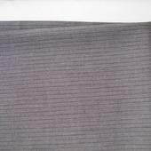 Серая ткань в  темную полоску (№12), отрез