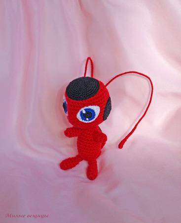Мягкая игрушка Тики-квами Леди Баг ручной работы на заказ