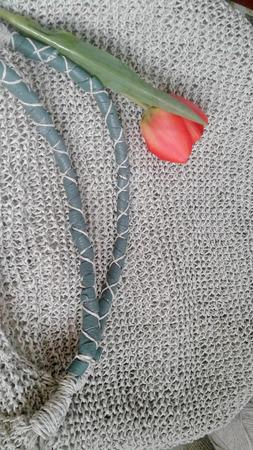 Сумка-оверсайз в стиле БОХО ручной работы на заказ