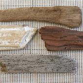 Дерево морское доска дрифтвуд 35-58 см Лот 18 наб. 2