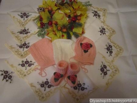 """Набор  для новорождённого """"Нежность"""" ручной работы на заказ"""