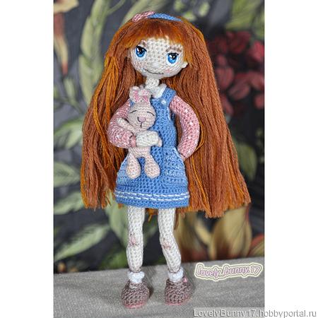 Вязаная каркасная кукла (ручная работа) ручной работы на заказ
