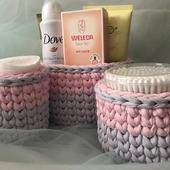 Набор корзиночек для ванной комнаты