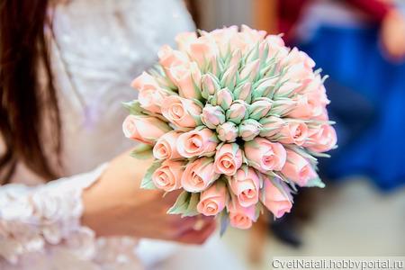 Букетик-дублёр для невесты ручной работы на заказ