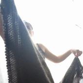 Королевская пуховая шаль