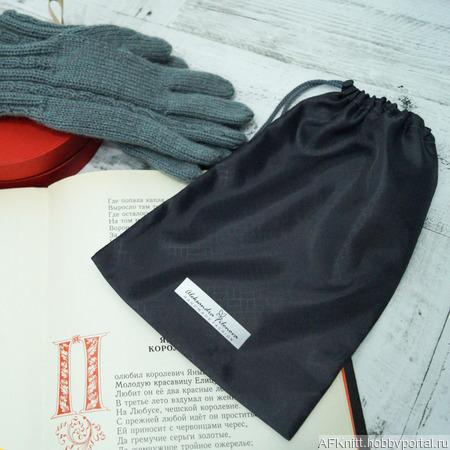 Мешочек для хранения варежек/перчаток ручной работы на заказ