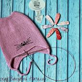 МК-описание для шапки с ушками Wrapper (Фантик)
