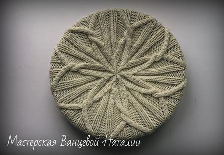 МК-описание классической шапочки Breeze (Ветерок) ручной работы на заказ