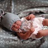 МК-описание чепчиков для новорожденных Sweet dreams (Сладкие сны)