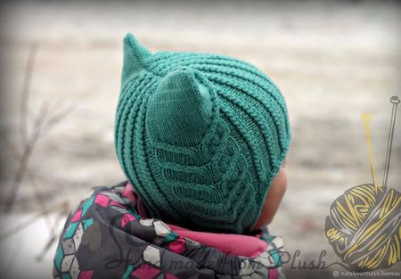 МК-описание шапочки ToffeeCat (Киска Ириска) ручной работы на заказ