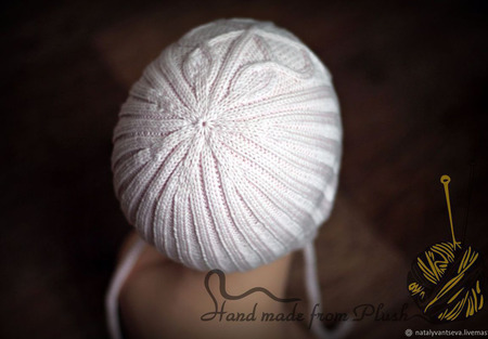 МК-описание шапочки с ушками Clover (Клевер) ручной работы на заказ