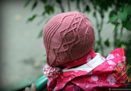 МК-описание шапочки с ушками Landrin (Ландрин) ручной работы на заказ