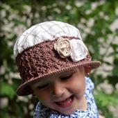 МК-описание комбинированной шляпки Vintage (Винтаж)