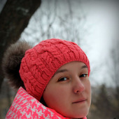 МК-описание шапки Kosmeya (Космея)