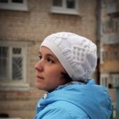 МК-описание женской шапки Ice Storm (Ледяной шторм)