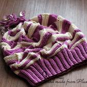 МК-описание шапки-берета Классический Миссони