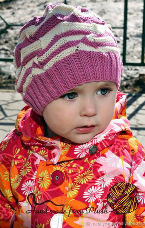 МК-описание шапки-берета Классический Миссони ручной работы на заказ