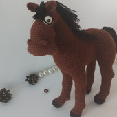 """Лошадь из м/ф """"Синий трактор"""""""