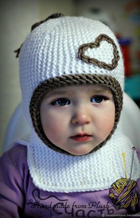 Мастер-класс: шапка-шлем Strip (Полосатик) ручной работы на заказ