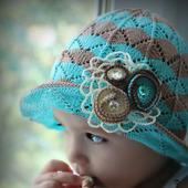 Мастер-класс: Шляпка спицами Лагуна