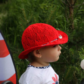 Мастер-класс: Шляпка спицами Ассоль