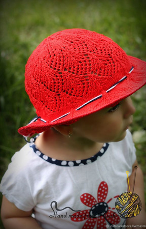 Мастер-класс: Шляпка спицами Ассоль ручной работы на заказ