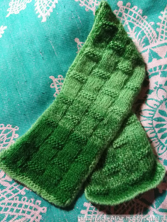 Мини-шарфики для щиколоток ручной работы на заказ