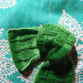 Мини-шарфики для щиколоток