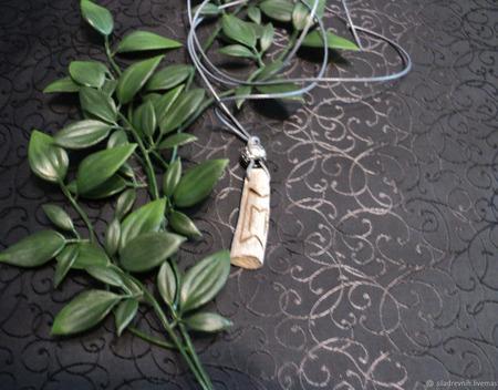 Амулет Дар Богов (на роге оленя) ручной работы на заказ