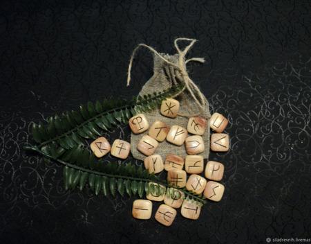 Набор Вендские руны (Славянские) ручной работы на заказ
