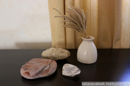 Морские камни набор 1 камешки дары моря ручной работы на заказ