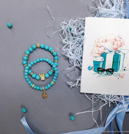 Сет браслетов «Страсти по Тиффани» ручной работы на заказ