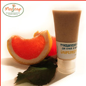 Очищающий крем-скраб для сухой и комбинированной кожи GRAPEFRUIT 20+