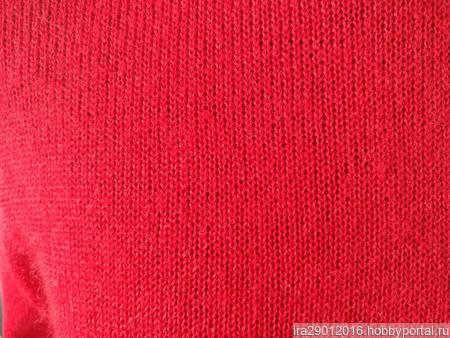 """Водолазка-свитер """"Феррари"""" ручной работы на заказ"""
