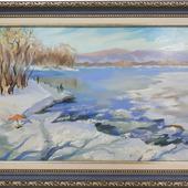 фото: Картины и панно (зимний пейзаж)