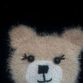 "Аппликация вязаная ""Медведь"""