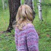 """Пуловер """"Розовый вечер"""""""