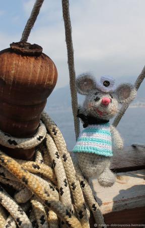 Пит - смелый мышонок ручной работы на заказ