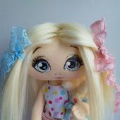Интерьерная и игровая кукла ручной работы