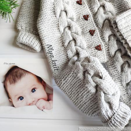 """Комплект детский комбинезон шапка """"Эльфа"""" пинетки носочки ручной работы на заказ"""