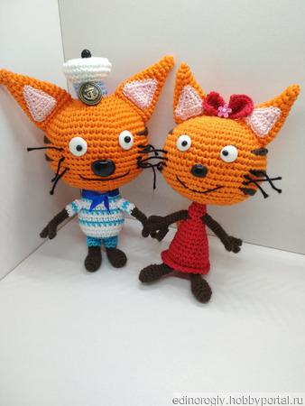 Герои м/ф Три кота ручной работы на заказ