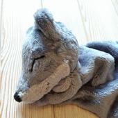 Комфортер плюшевый волчонок