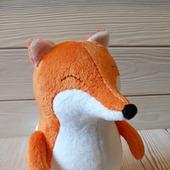 Плюшевая лисичка FiddleFox