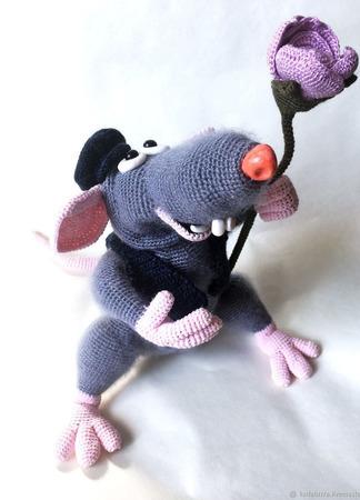 Крыс Дамский угодник ручной работы на заказ