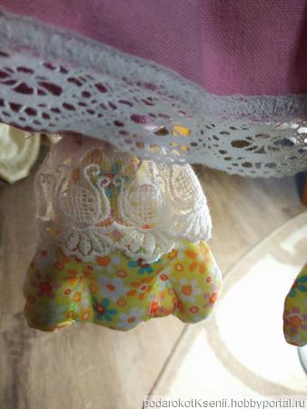 Пакетница-пижамница гусыня Ванесса ручной работы на заказ