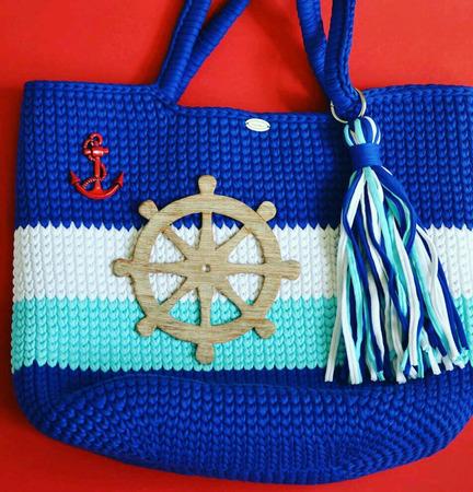 Морские украшения для сумок ручной работы на заказ