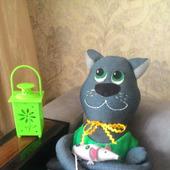 Авторская игрушка Кот Тимофей