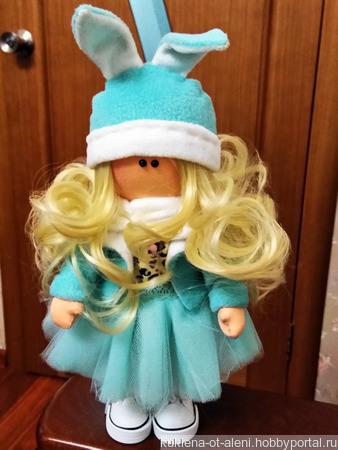 Интерьерная текстильная кукла на заказ ручной работы на заказ
