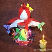 Обрядовая кукла Птица радость